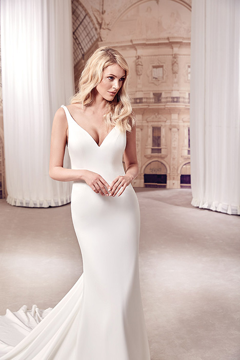 MD277 gown from the 2019 Eddy K Milano collection, as seen on Bride.Canada