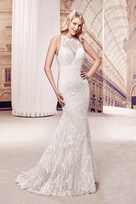 MD281 gown from the 2019 Eddy K Milano collection, as seen on Bride.Canada