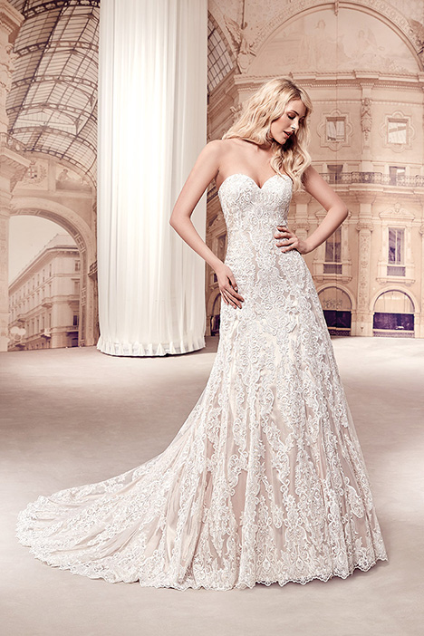 MD291 gown from the 2019 Eddy K Milano collection, as seen on Bride.Canada