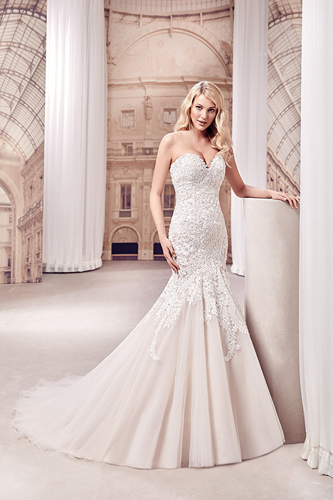 gown from the 2019 Eddy K Milano collection, as seen on Bride.Canada