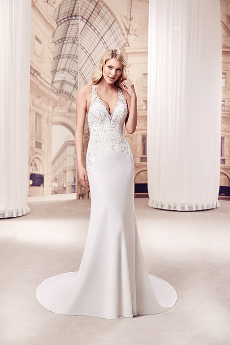 MD294 gown from the 2019 Eddy K Milano collection, as seen on Bride.Canada
