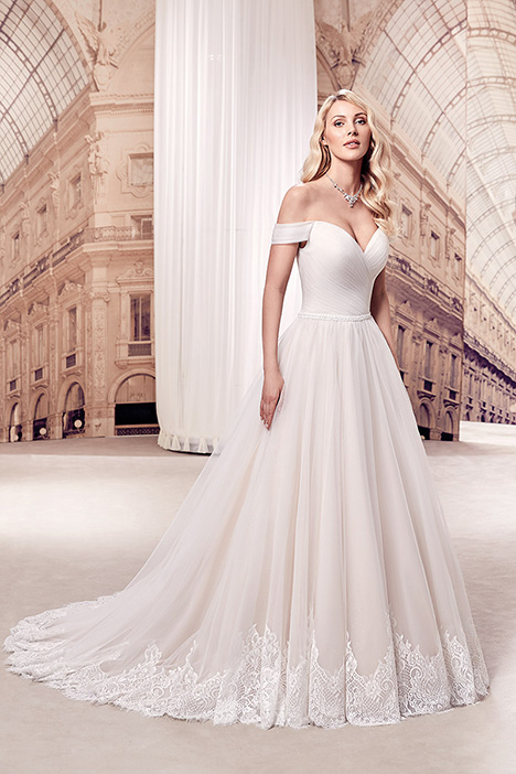 MD301 gown from the 2019 Eddy K Milano collection, as seen on Bride.Canada