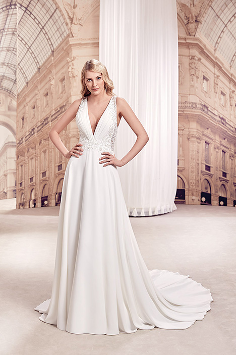 MD303 gown from the 2019 Eddy K Milano collection, as seen on Bride.Canada