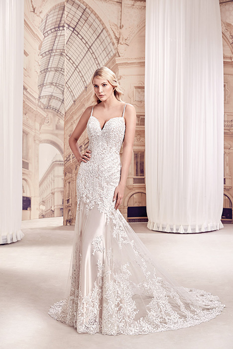 MD306 gown from the 2019 Eddy K Milano collection, as seen on Bride.Canada