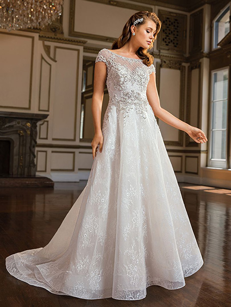 Diana (c140) gown from the 2019 Amare collection, as seen on Bride.Canada