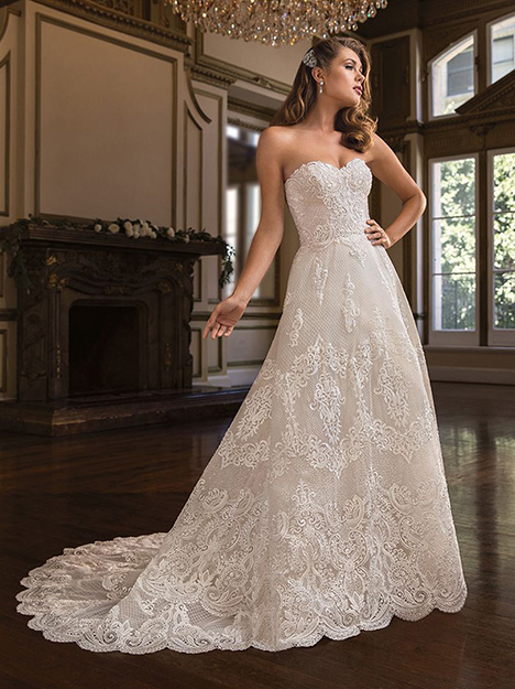 Amelia (c141) gown from the 2019 Amare collection, as seen on Bride.Canada