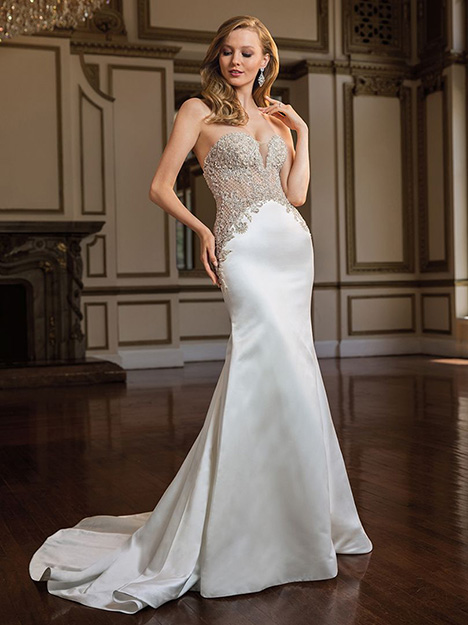 Mia (c145) gown from the 2019 Amare collection, as seen on Bride.Canada