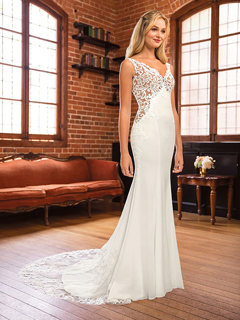 Addison gown from the 2019 Beloved By Casablanca collection, as seen on Bride.Canada