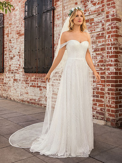 Jules gown from the 2019 Beloved By Casablanca collection, as seen on Bride.Canada