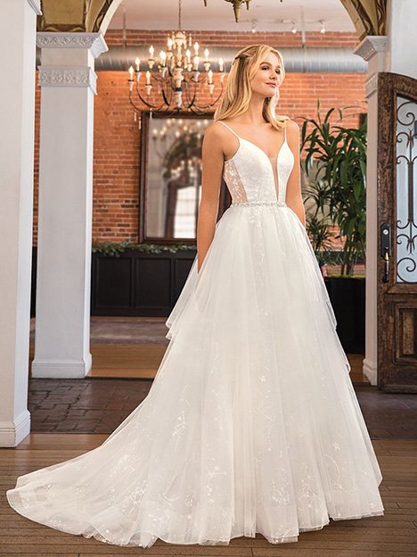 Stella gown from the 2019 Beloved By Casablanca collection, as seen on Bride.Canada
