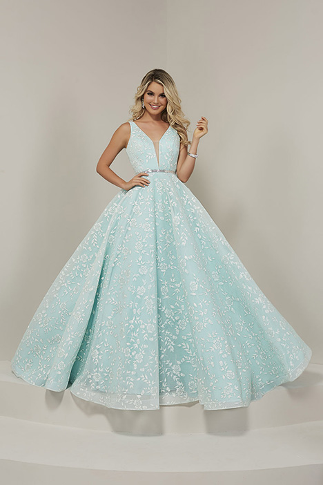 16325 gown from the 2019 Tiffany Designs collection, as seen on Bride.Canada