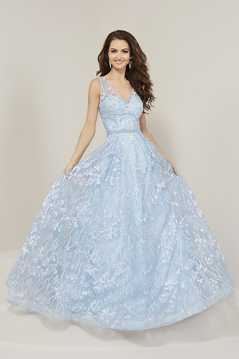 16346 gown from the 2019 Tiffany Designs collection, as seen on Bride.Canada