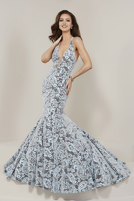 16354 gown from the 2019 Tiffany Designs collection, as seen on Bride.Canada
