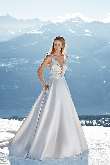 SKY146 gown from the 2019 Eddy K Sky collection, as seen on Bride.Canada