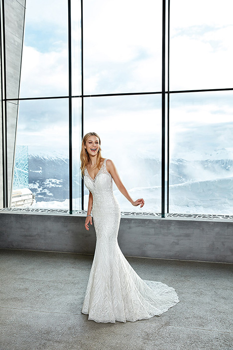gown from the 2019 Eddy K Sky collection, as seen on Bride.Canada