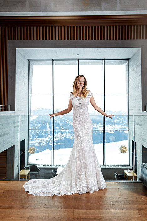 SKY154 gown from the 2019 Eddy K Sky collection, as seen on Bride.Canada
