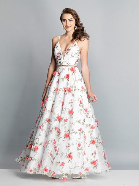 7924 gown from the 2019 Dave & Johnny Special Occasions collection, as seen on Bride.Canada