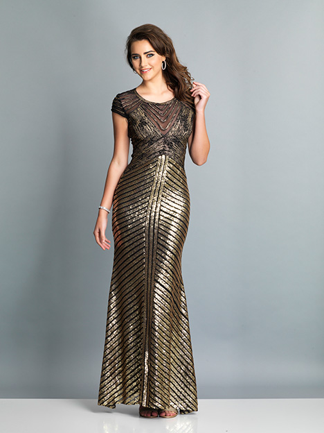 7788 gown from the 2019 Dave & Johnny Special Occasions collection, as seen on Bride.Canada