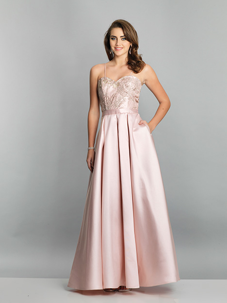 7774 gown from the 2019 Dave & Johnny Special Occasions collection, as seen on Bride.Canada