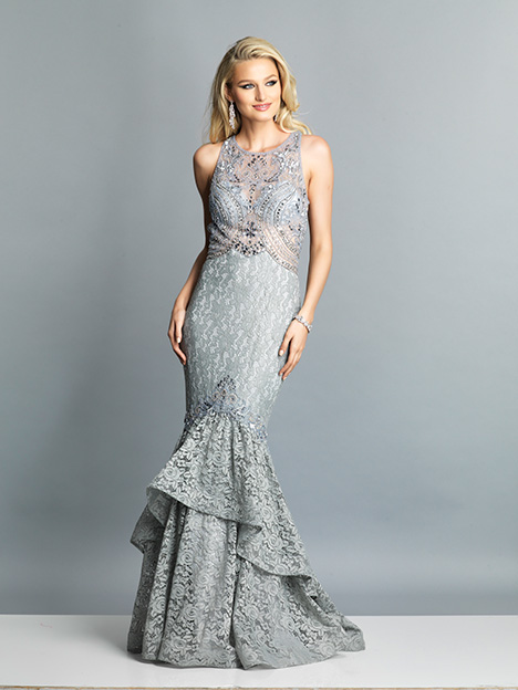 7745 gown from the 2019 Dave & Johnny Special Occasions collection, as seen on Bride.Canada