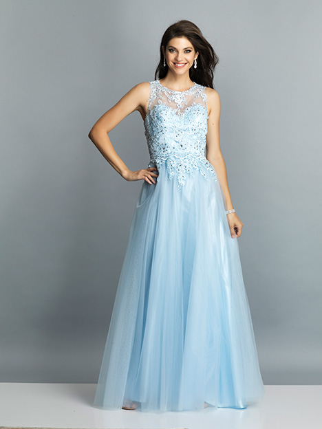 7744 gown from the 2019 Dave & Johnny Special Occasions collection, as seen on Bride.Canada