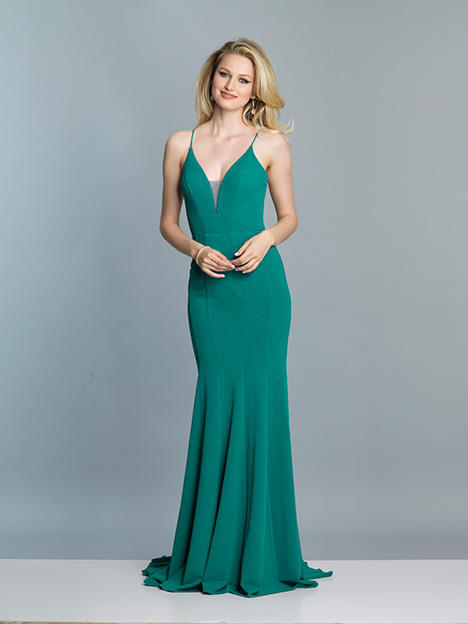 770 gown from the 2019 Dave & Johnny Special Occasions collection, as seen on Bride.Canada