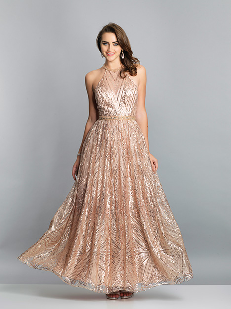 7675 gown from the 2019 Dave & Johnny Special Occasions collection, as seen on Bride.Canada