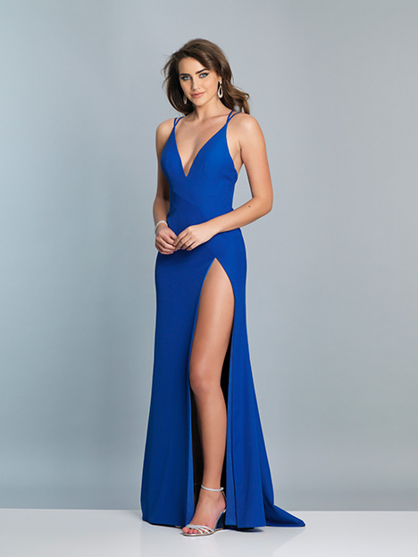 7633 gown from the 2019 Dave & Johnny Special Occasions collection, as seen on Bride.Canada