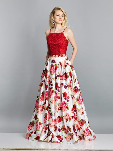 6924 gown from the 2019 Dave & Johnny Special Occasions collection, as seen on Bride.Canada