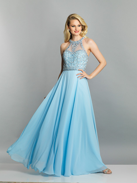 6745 gown from the 2019 Dave & Johnny Special Occasions collection, as seen on Bride.Canada