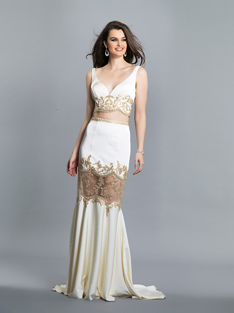 6732 gown from the 2019 Dave & Johnny Special Occasions collection, as seen on Bride.Canada