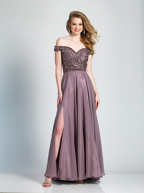 6694 gown from the 2019 Dave & Johnny Special Occasions collection, as seen on Bride.Canada