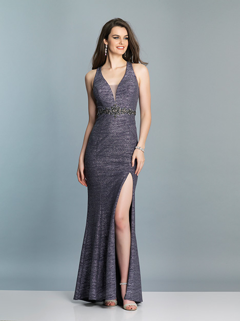 7572 gown from the 2019 Dave & Johnny Special Occasions collection, as seen on Bride.Canada
