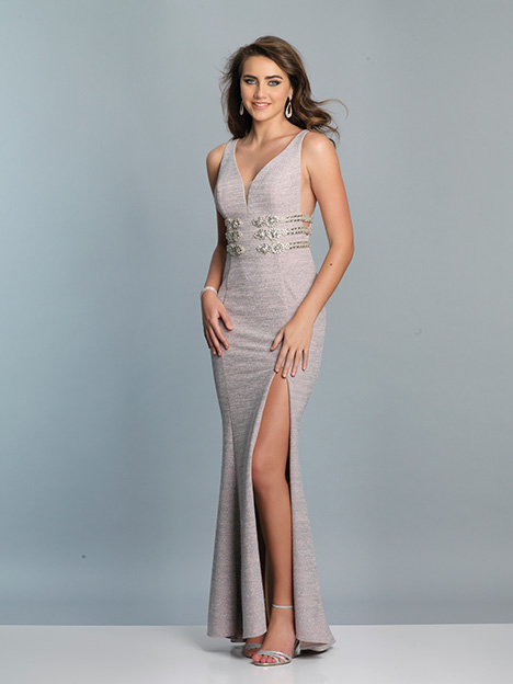 7571 gown from the 2019 Dave & Johnny Special Occasions collection, as seen on Bride.Canada