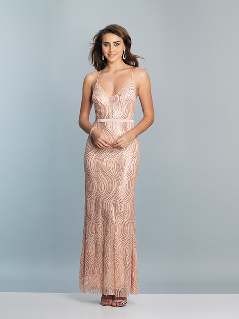 7557 gown from the 2019 Dave & Johnny Special Occasions collection, as seen on Bride.Canada
