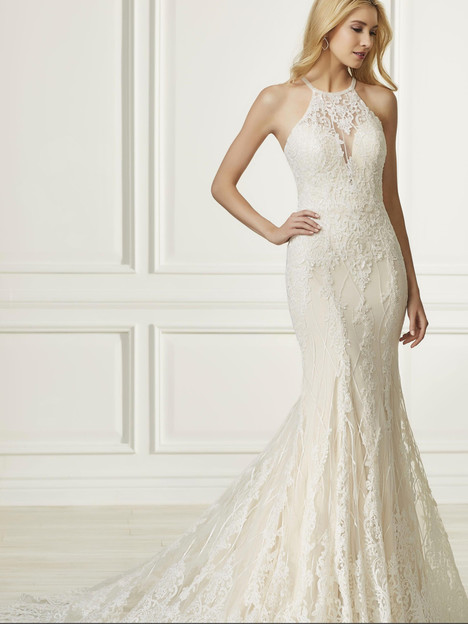 31096 gown from the 2019 Adrianna Papell collection, as seen on Bride.Canada