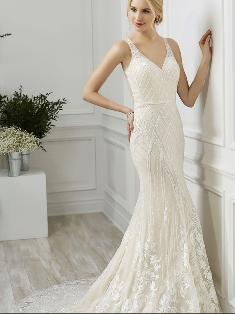 31103 gown from the 2019 Adrianna Papell collection, as seen on Bride.Canada