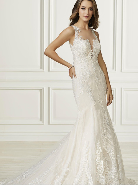 31104 gown from the 2019 Adrianna Papell collection, as seen on Bride.Canada