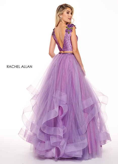 6412 gown from the 2019 Rachel Allan collection, as seen on Bride.Canada