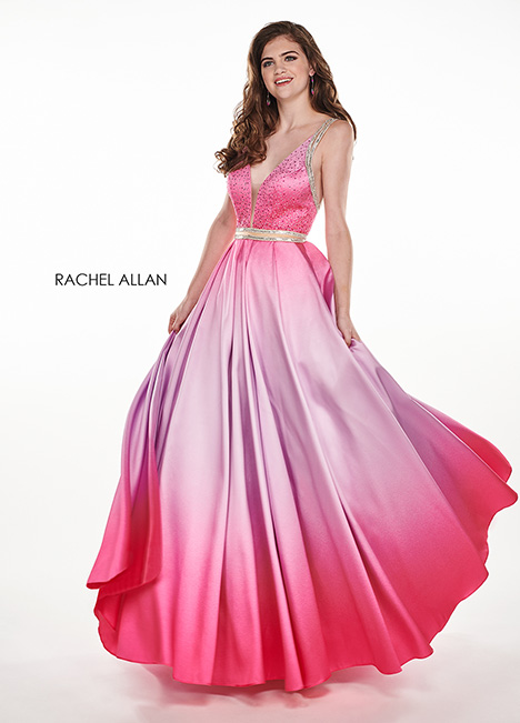 6425 gown from the 2019 Rachel Allan collection, as seen on Bride.Canada
