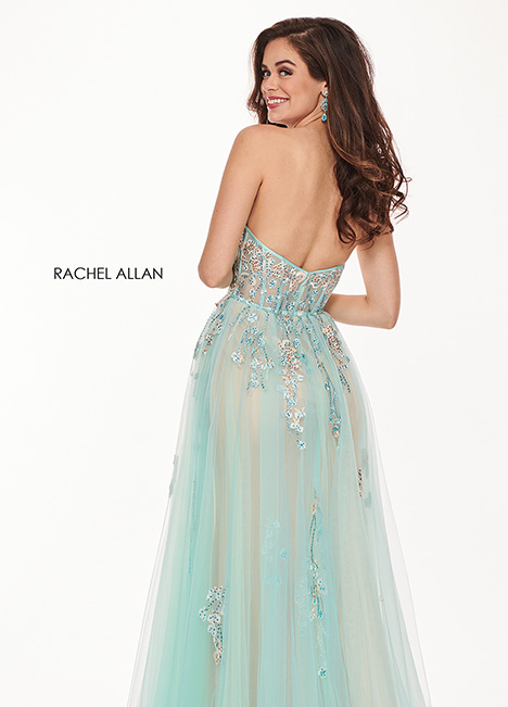 6474 gown from the 2019 Rachel Allan collection, as seen on Bride.Canada