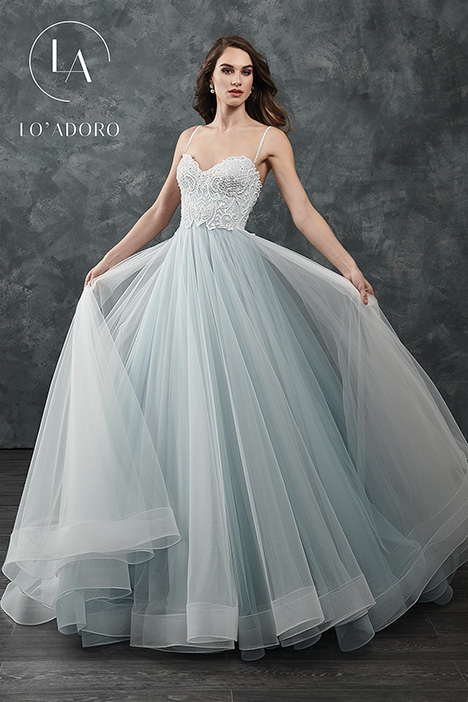 M644 gown from the 2018 Lo' Adoro collection, as seen on Bride.Canada