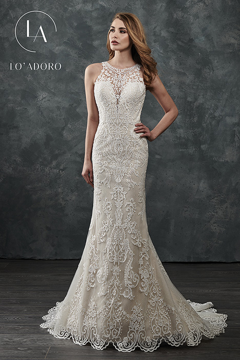 M658 gown from the 2018 Lo' Adoro collection, as seen on Bride.Canada