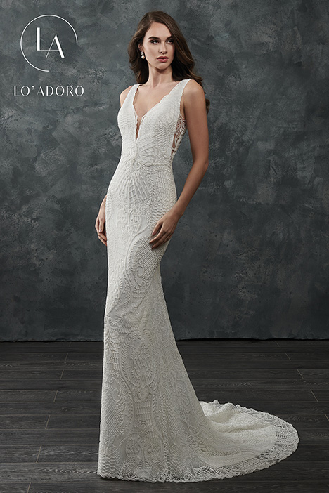 M659 gown from the 2018 Lo' Adoro collection, as seen on Bride.Canada