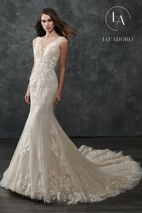 M665 gown from the 2018 Lo' Adoro collection, as seen on Bride.Canada