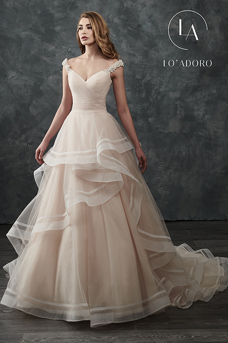 M667 gown from the 2018 Lo' Adoro collection, as seen on Bride.Canada