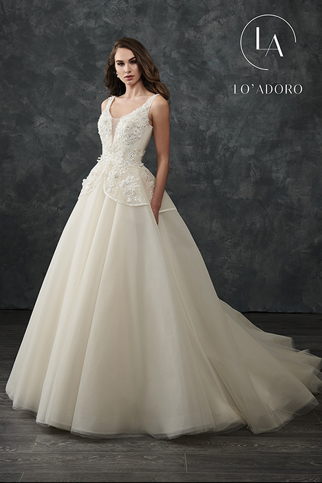 M668 gown from the 2018 Lo' Adoro collection, as seen on Bride.Canada