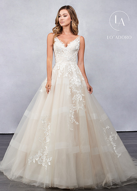 M680 gown from the 2019 Lo' Adoro collection, as seen on Bride.Canada