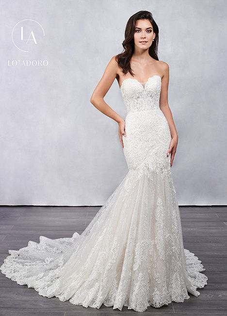 M681 gown from the 2019 Lo' Adoro collection, as seen on Bride.Canada