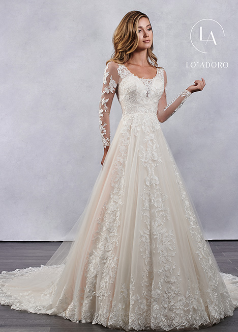 M684 gown from the 2019 Lo' Adoro collection, as seen on Bride.Canada
